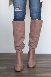 Off The Radar Boots: Taupe - ShopSpoiled