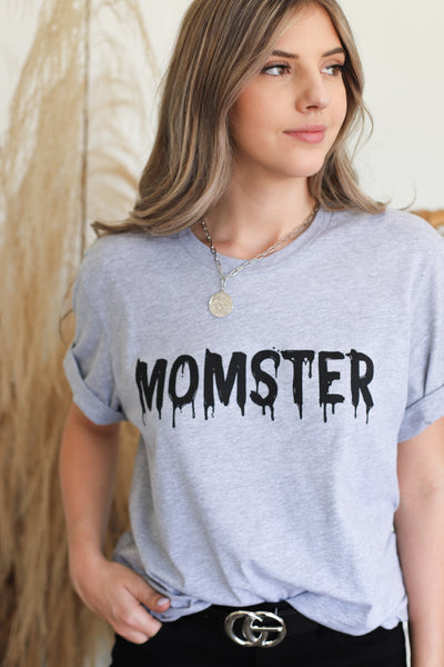 Momster Graphic Tee - ShopSpoiled