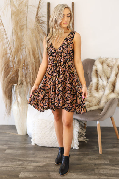 On Second Thought Dress: Black - Shop Spoiled Boutique