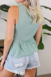 Adventure Time Top: Mint - ShopSpoiled