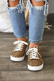 Girl Power Sneakers: Cheetah - ShopSpoiled
