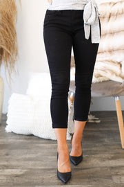 Lulu Black Jeans - ShopSpoiled
