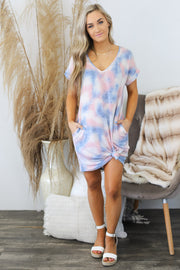Cotton Candy Clouds Dress - Shop Spoiled Boutique
