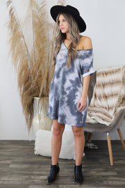 Cloudy Days Dress - ShopSpoiled