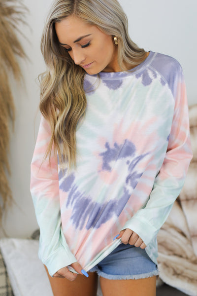 California Genie Pullover: Purple - Shop Spoiled Boutique