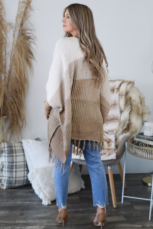 Just Warming Up Cardigan: Tan - ShopSpoiled