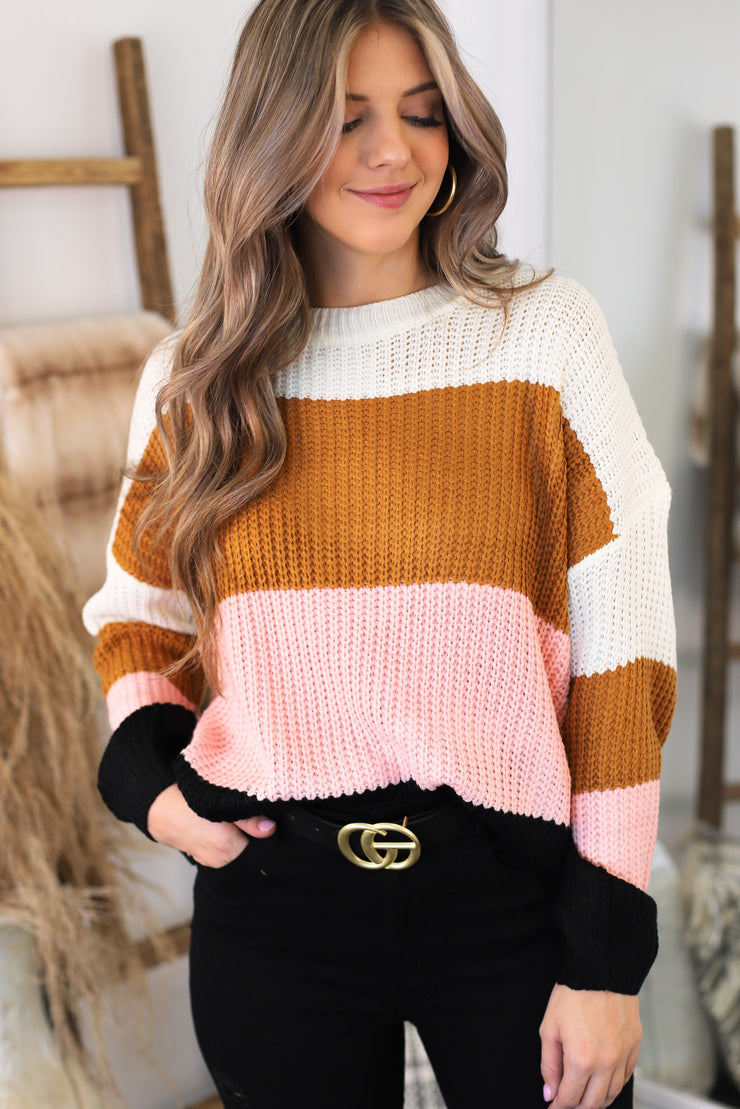 Ice Cream Date Sweater - ShopSpoiled