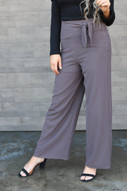 Right On Time Pants: Mocha - ShopSpoiled