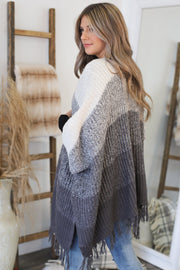 Just Warming Up Cardigan: Grey - ShopSpoiled