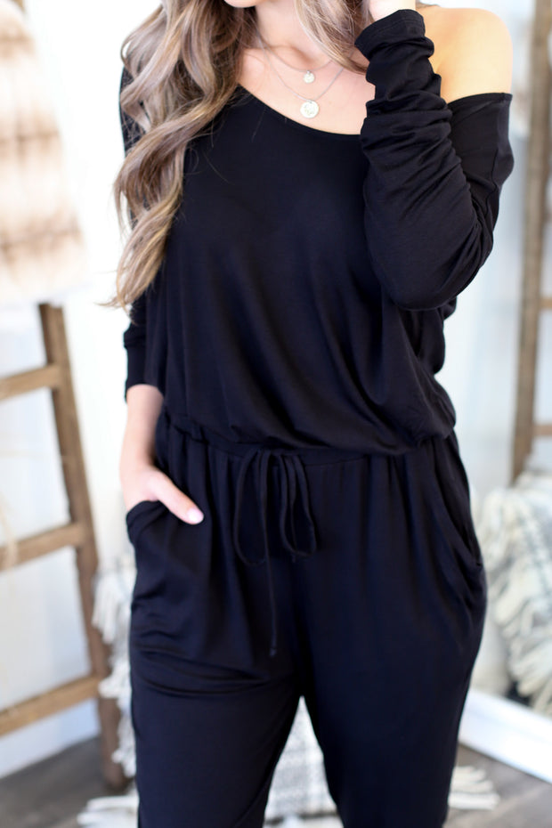 Chill Worthy Jumpsuit - ShopSpoiled