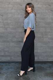 Right On Time Pants: Black - Shop Spoiled Boutique
