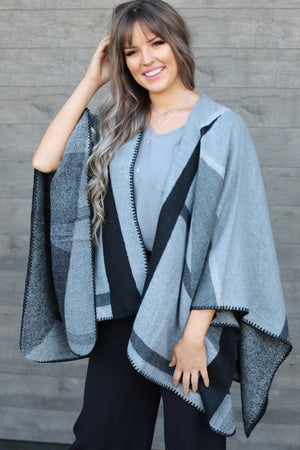 Model Ready Poncho - ShopSpoiled