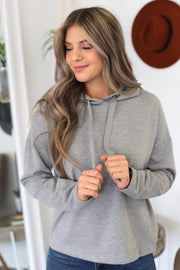 Time To Chill Hoodie: Grey - ShopSpoiled