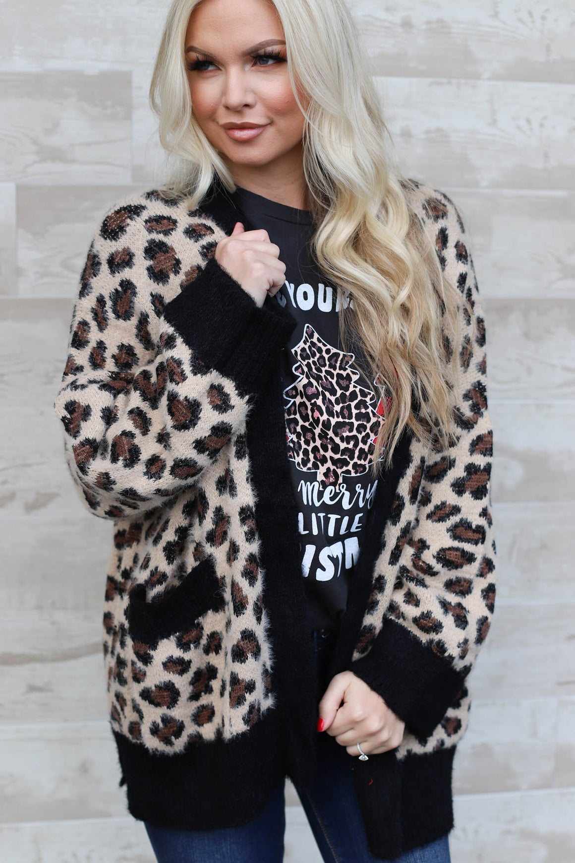 Luxe Leopard Cardigan - ShopSpoiled