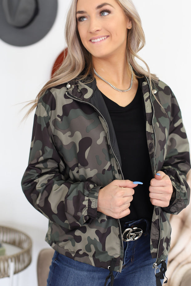 Dakota Zip Up Jacket - ShopSpoiled