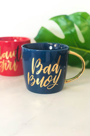 Nauti Girl Bad Buoy Mug Set - ShopSpoiled