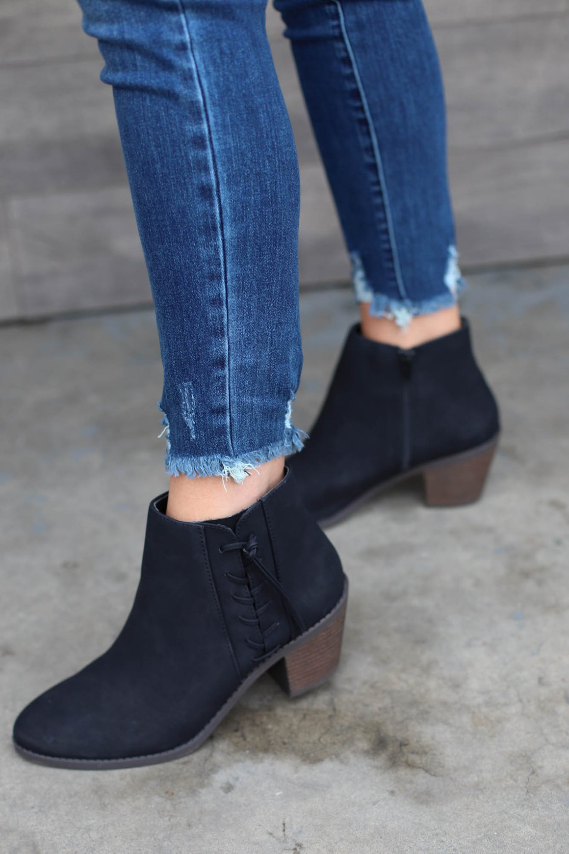 Celeste Booties: black - ShopSpoiled