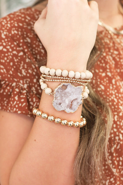 Totally Dazzled Bracelet Set - ShopSpoiled