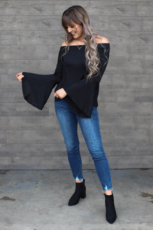 Ruby Top: Black - ShopSpoiled