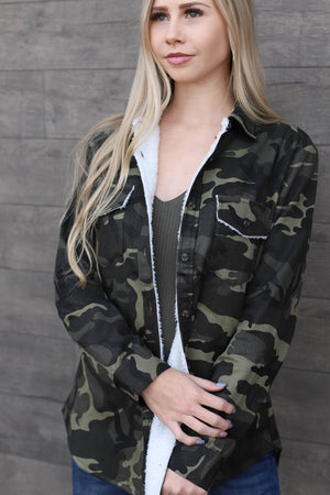 Love Game Camo Jacket - ShopSpoiled