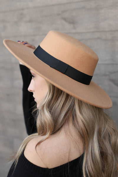 Rancherio Hat: Tan - ShopSpoiled