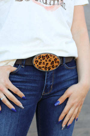 Wild Thang Belt: Brown - ShopSpoiled