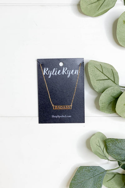 Badass Bar Necklace - ShopSpoiled