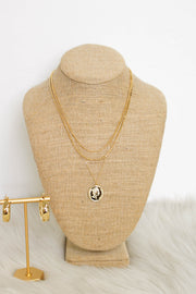 Forever Coin Necklace: Gold - ShopSpoiled