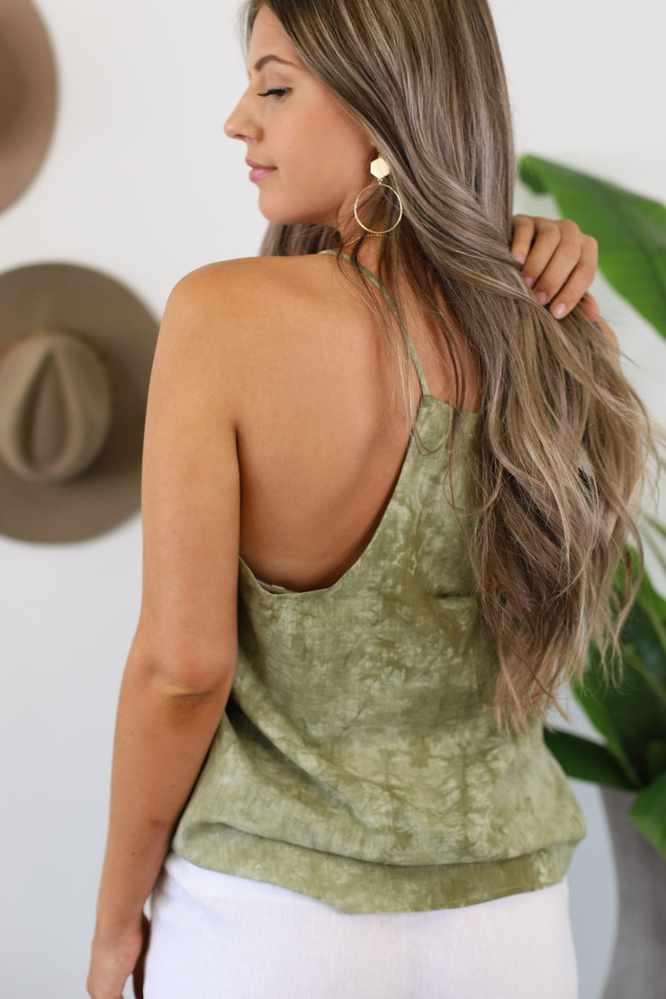Sea Me Now: Olive Tie Dye - ShopSpoiled