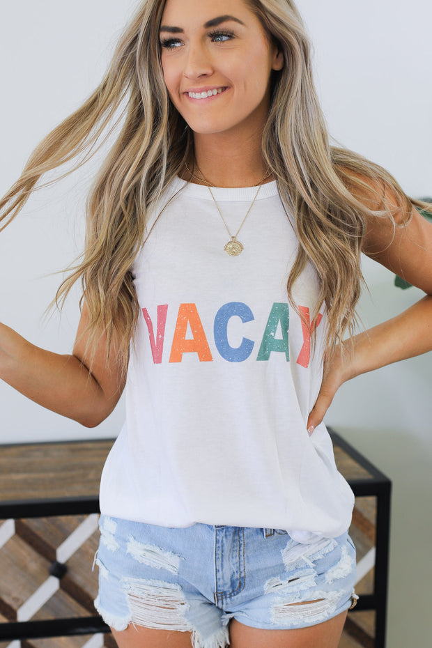 Vacay Tank - Shop Spoiled Boutique