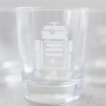 Star Wars Inspired Hand-etched 8oz Juice Glasses (set of 6)