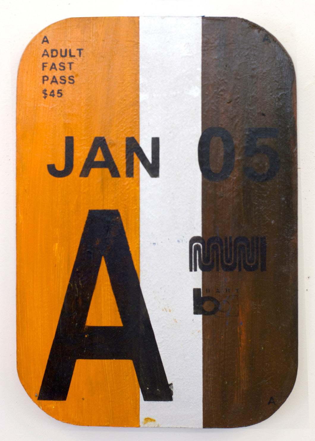 San Francisco MUNI Pass - January  2005