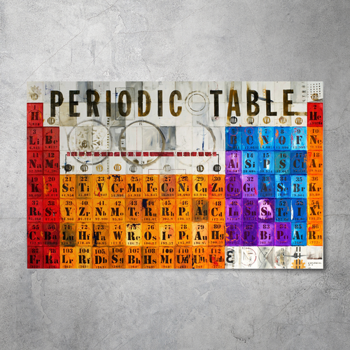 Periodic Table Print (Limited Edition)