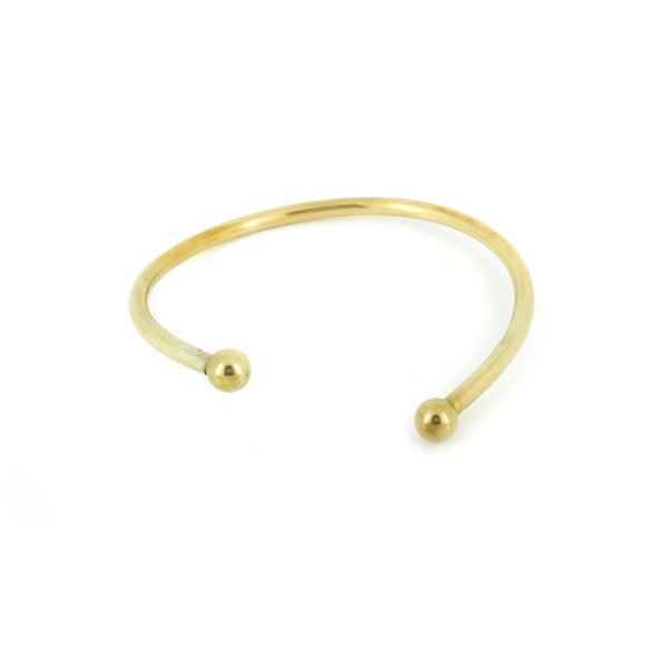 TWO DOTS BANGLE