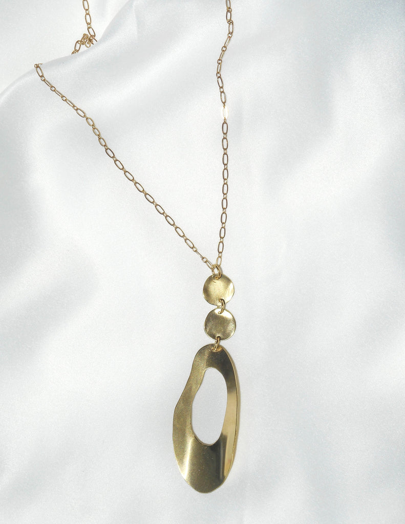 Circular Chain Necklace