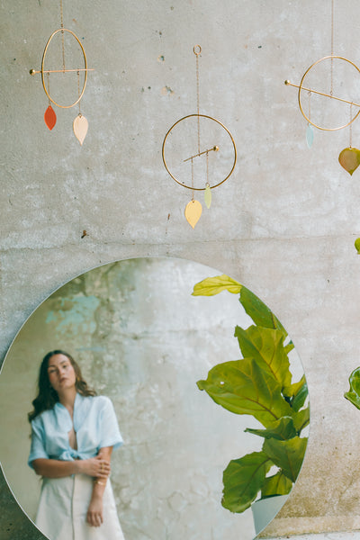 Pothos Hanging Mobile: Poppy