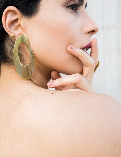 Big Curva Earrings