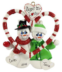 Couple Ornaments