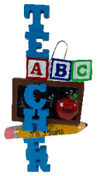 ABC Teacher - Made of Resin