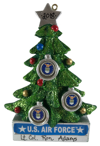 Air Force Tree - Made of Resin