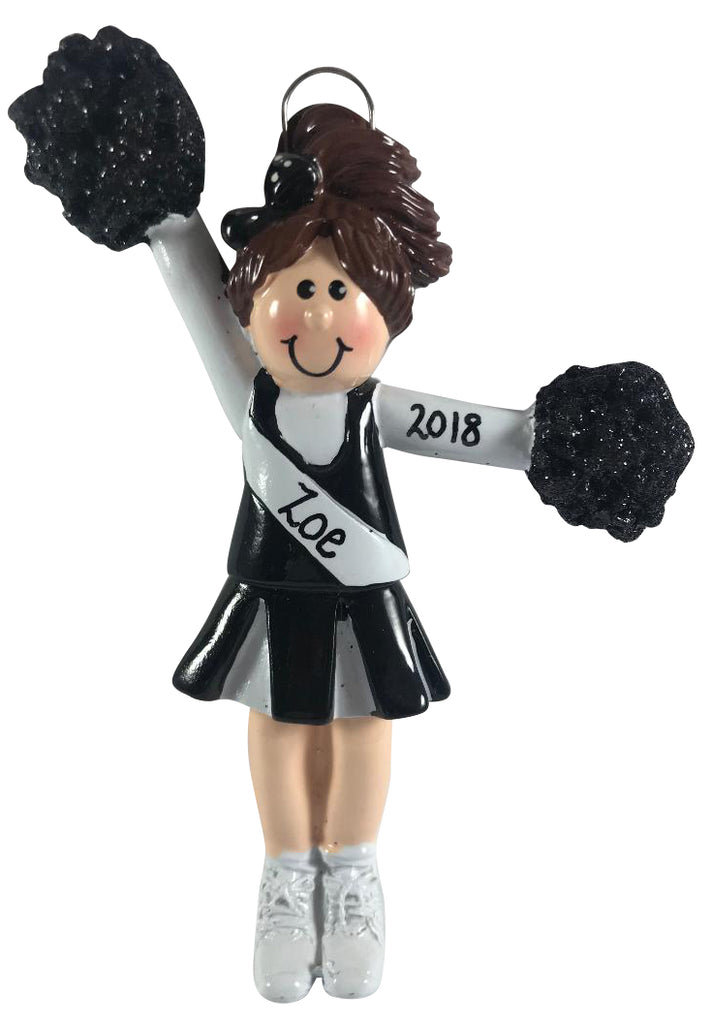 Cheerleader Brunette - Made of Resin