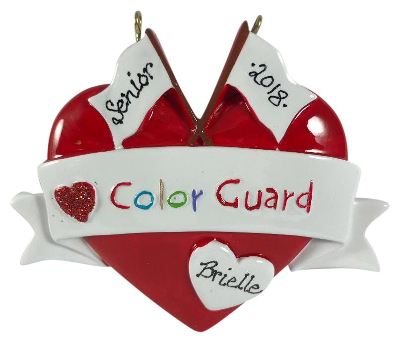 Color Guard - Made of Resin