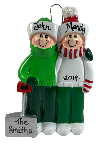 Snow Shovel Family of 2 - Made of Resin