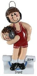 Wrestler Brunette - Made of Resin