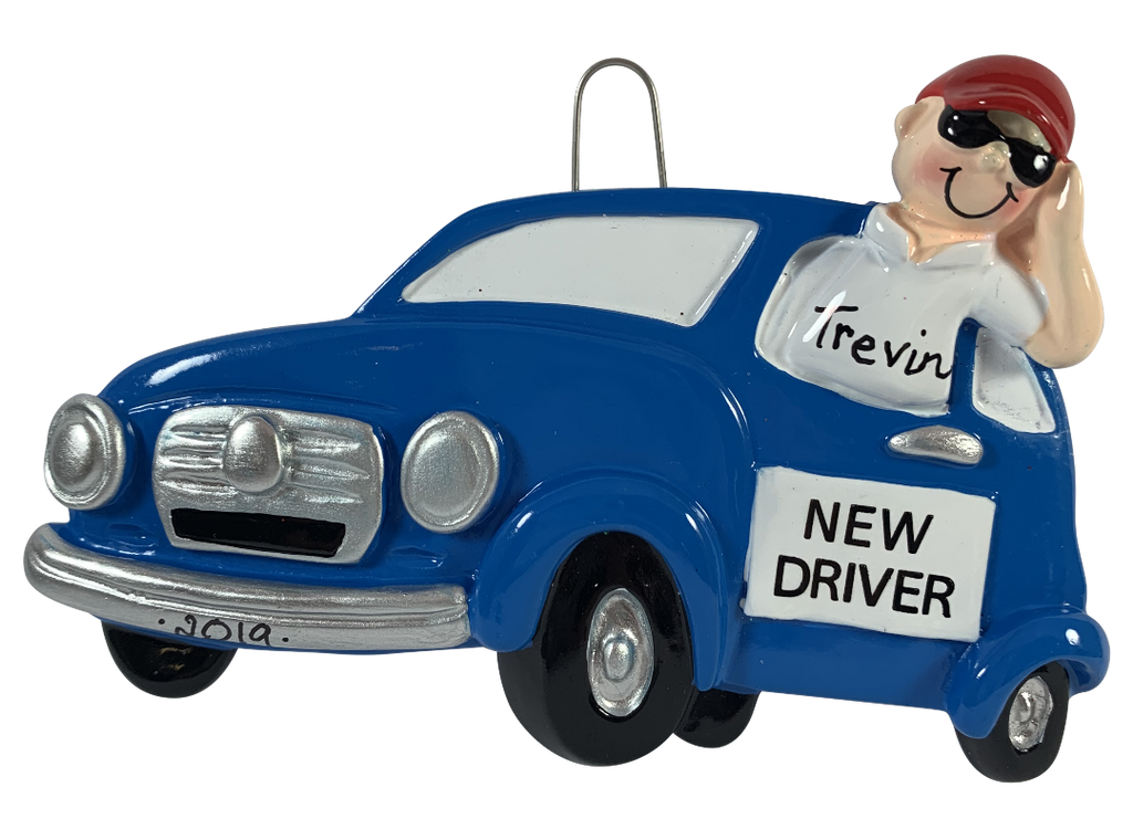 New Driver Boy - Made of Resin
