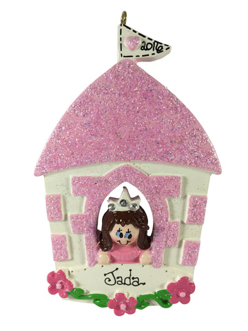 Princess Castle Brunette - Made of Resin