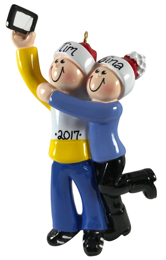 Selfie Couple - Made of Resin