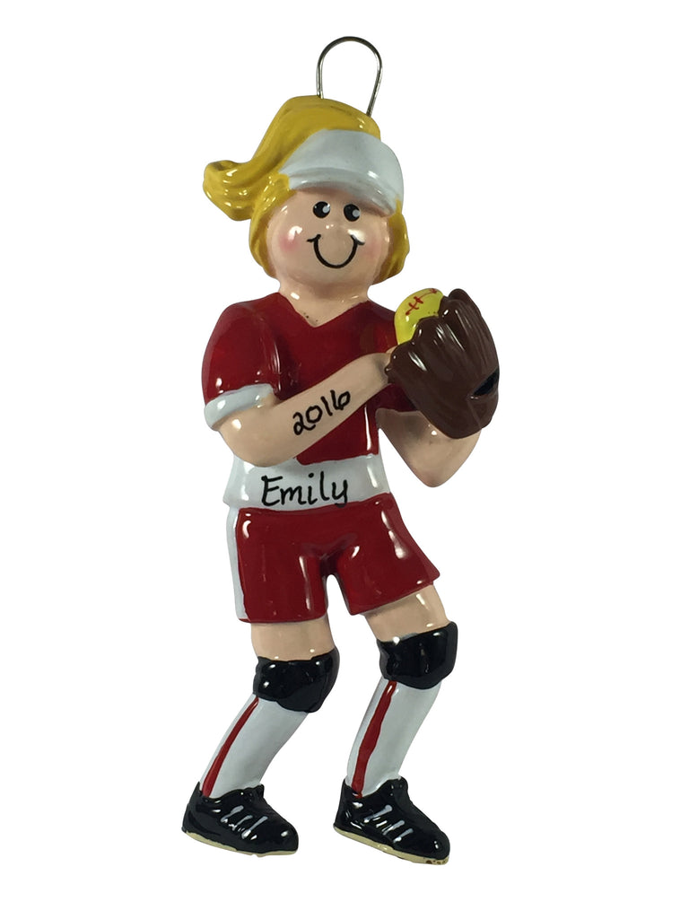 Softball Blonde - Made of Resin