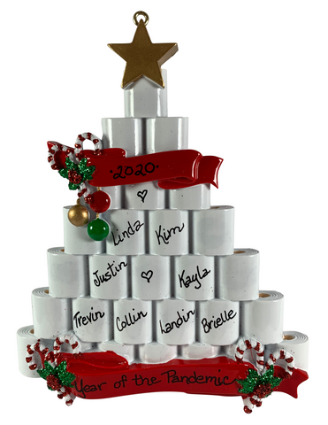 TP Christmas Tree - Made of Resin