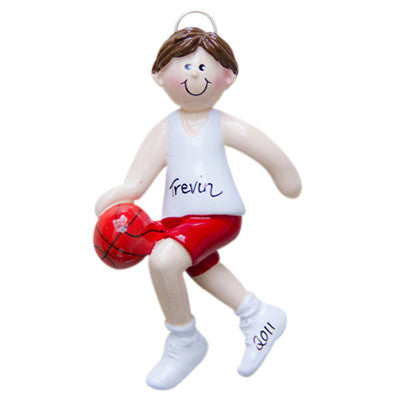 Basketball Boy Brunette - Made of Resin